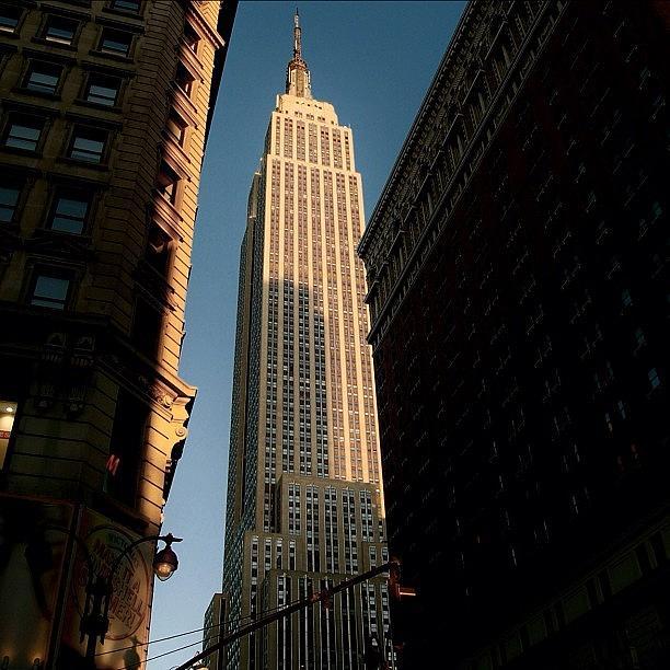 City Photograph - #newyorker #newyork #ny #empire by Joel Lopez