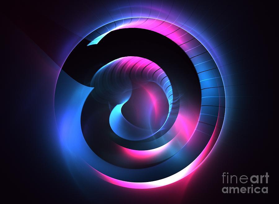 Apophysis Digital Art - Nexus by Kim Sy Ok