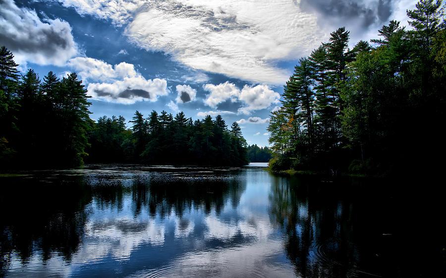 Lake Photograph - NH Lake  by Edward Myers