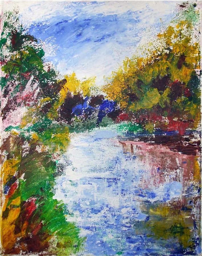Nh Landscape Painting - Nh Landscape by Michel Croteau