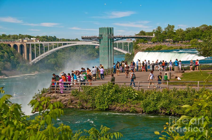 Niagara Falls State Park Photograph By Anne Kitzman
