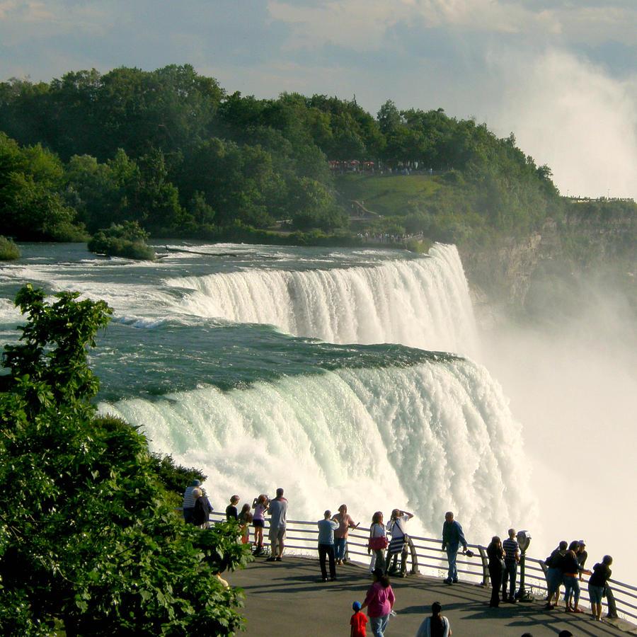 Niagara Falls Photograph - Niagara Falls State Park by Mark J Seefeldt