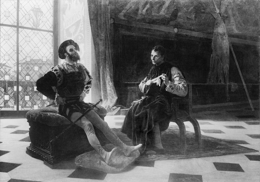 History Photograph - Niccol� Machiavelli 1469-1527 In An by Everett