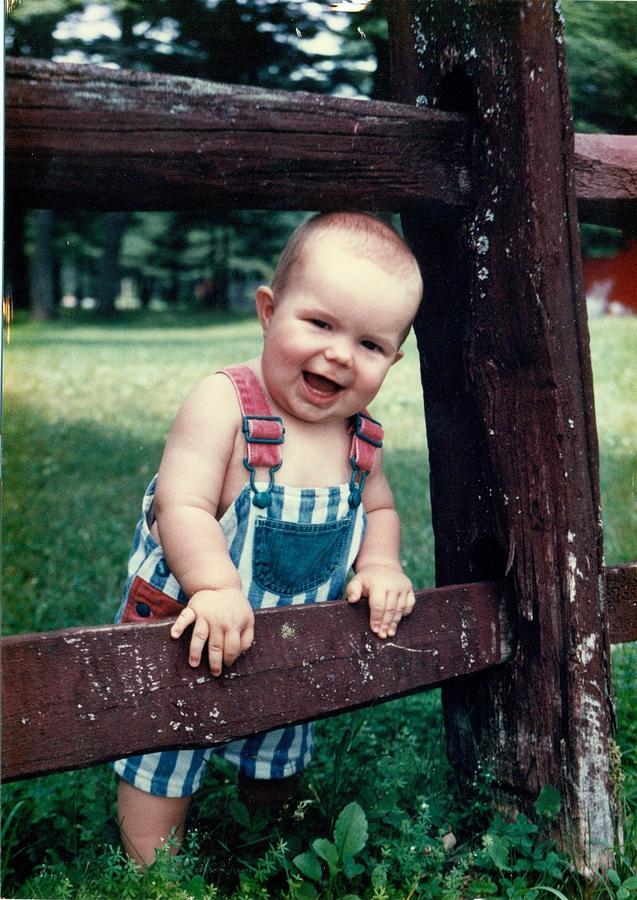 Child Photograph - Nicholas by Christina Davis