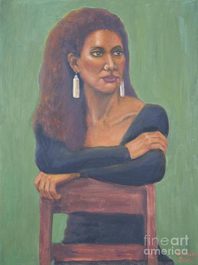 Portrait Painting - Nicole by Bruce Lum