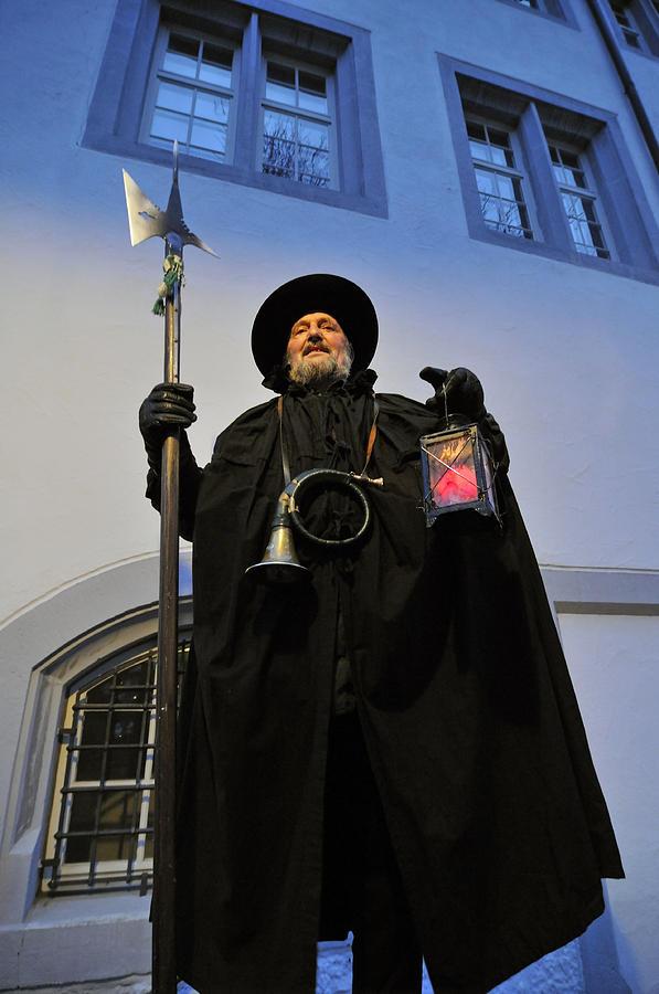 Night Watchman Photograph - Night Watchman by Matthias Hauser