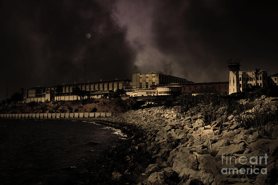 Nightfall Over Hard Time San Quentin California State