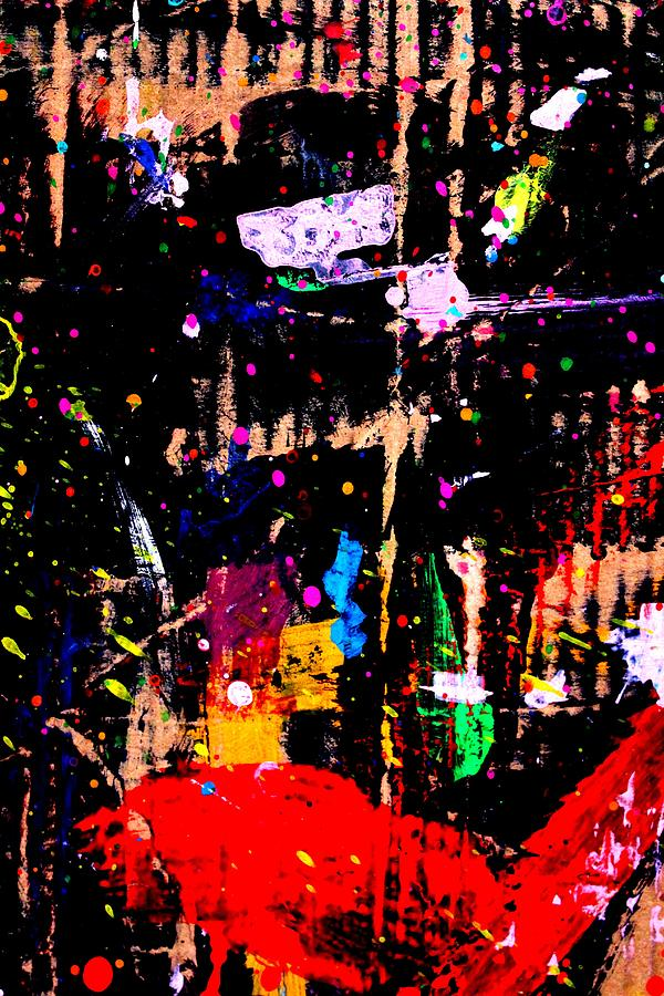 Abstract Painting - Nighttown X by John  Nolan
