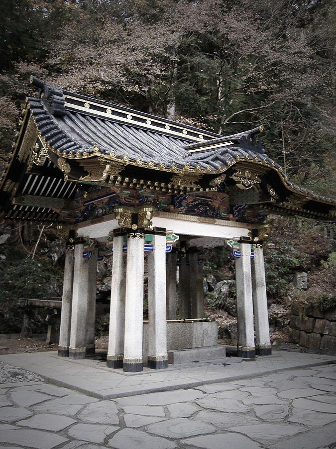 Japan Photograph - Nikko Architecture by Naxart Studio