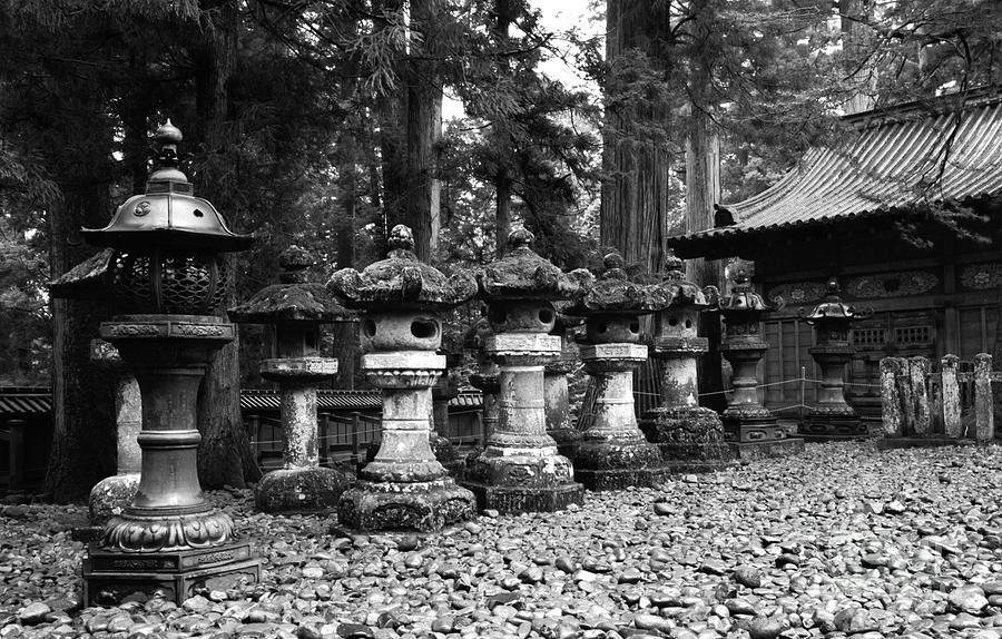 Nikko Lanterns Photograph by Don Ellis