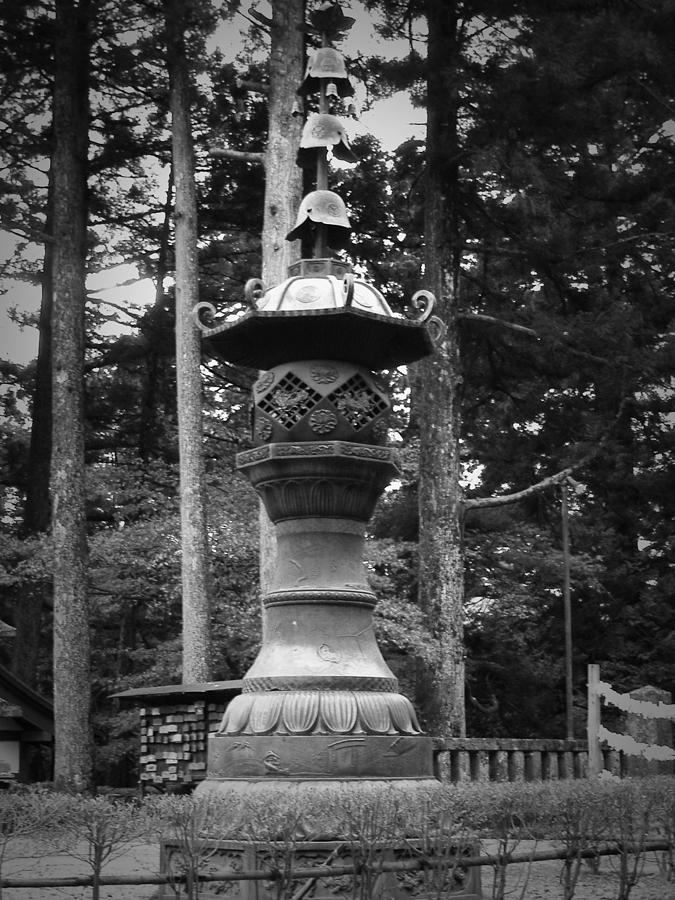 Nikko Photograph - Nikko Sculpture by Naxart Studio