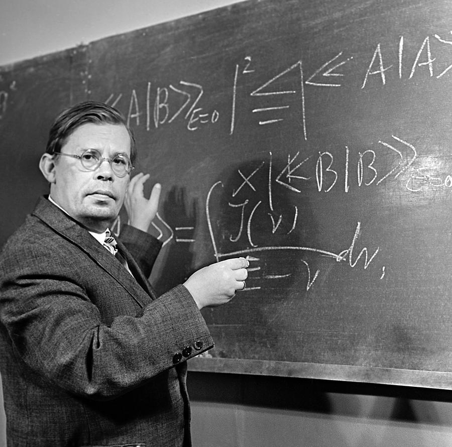 Portrait Photograph - Nikolai Bogolyubov, Soviet Physicist by Ria Novosti