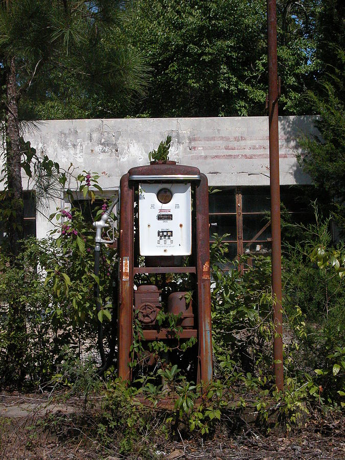 Gas Pump Photograph - No Customers For Awhile by David Dittmann