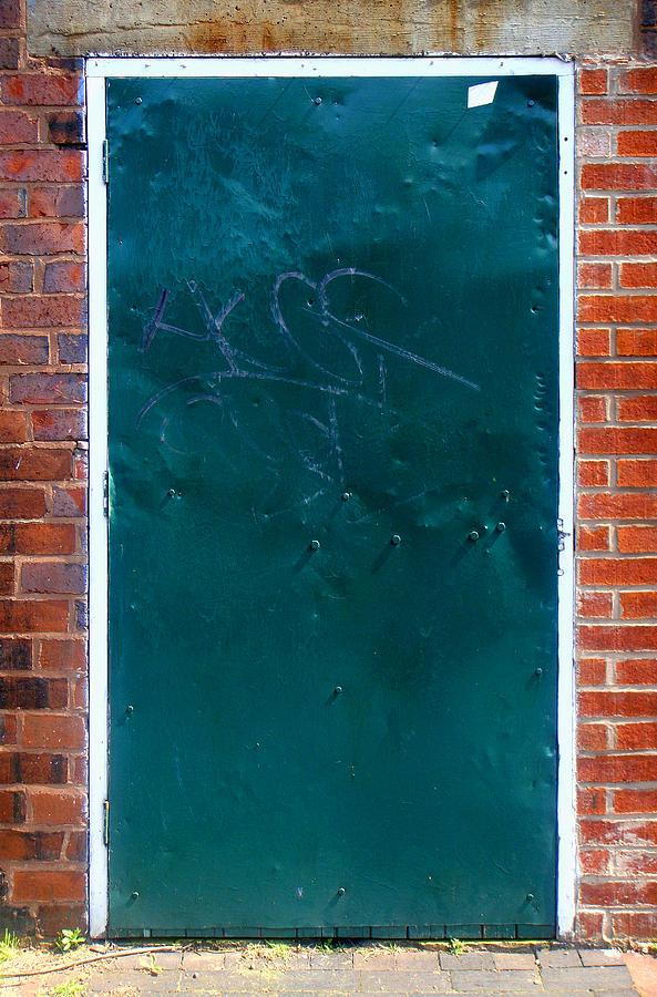 Door Photograph - No Handles? by Roberto Alamino