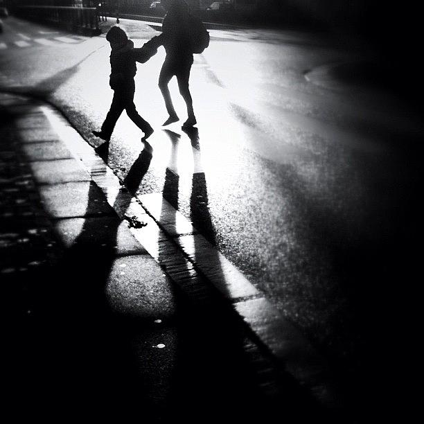 Shadows Photograph - No Jay Walking. #people #shadow by Robbert Ter Weijden