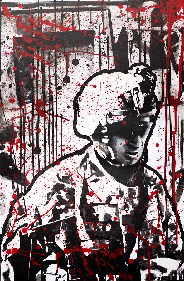 101st Airborne Painting - No Slack by Michael Figueroa