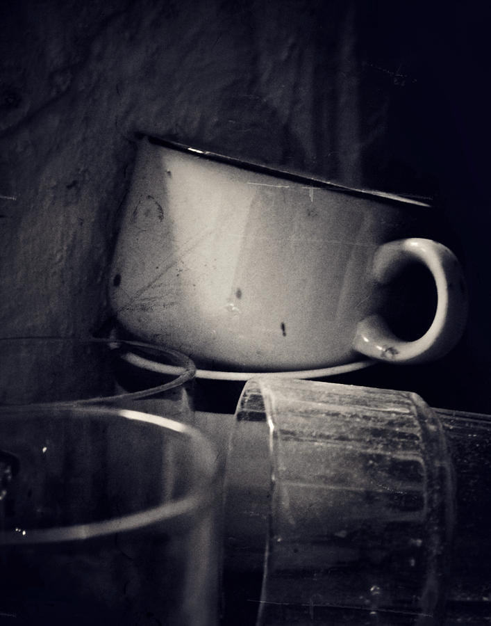 Cups Photograph - No Soap by Odd Jeppesen