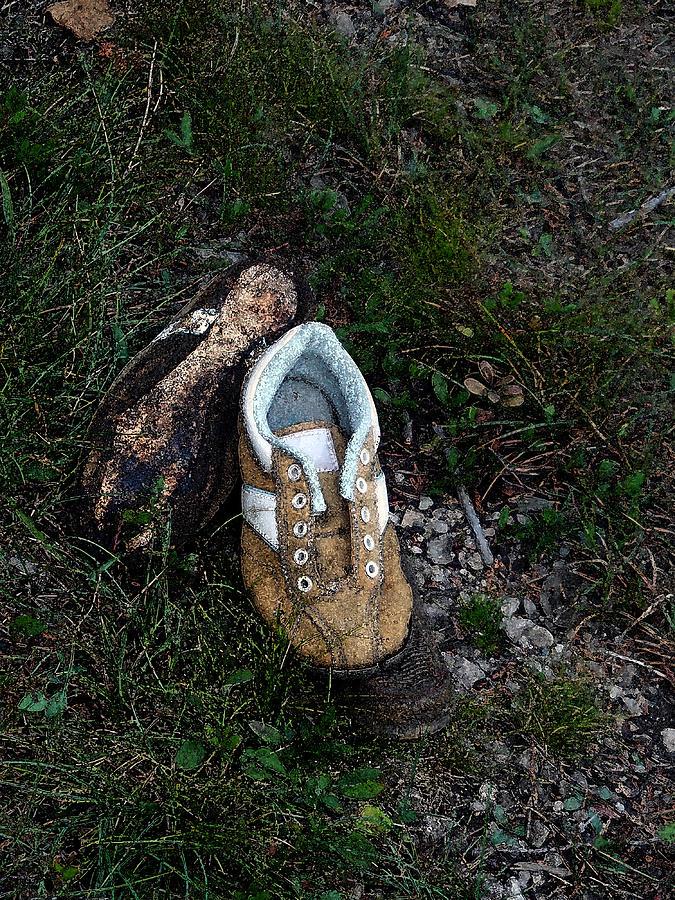 Reebok Photograph - No Ties by Cyryn Fyrcyd