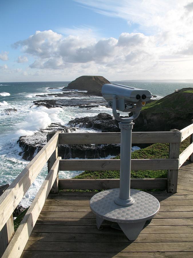 Nobbies Viewpoint - Great Ocean Road, Australia Photograph