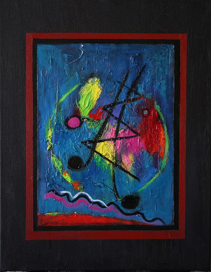 Abstract Painting - Noise by Karin Eisermann