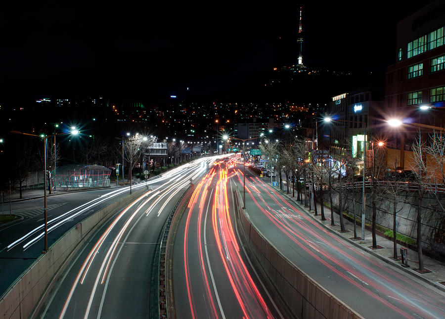 Horizontal Photograph - Noksapyeong Bridge by Shannon Aston Photography