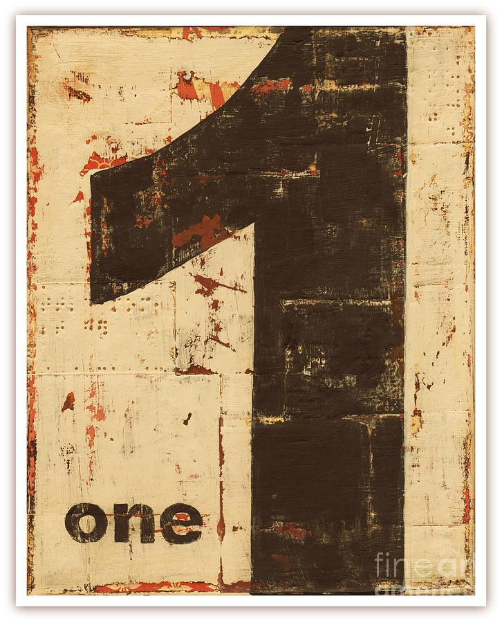 No.one Mixed Media by Diana Mulder