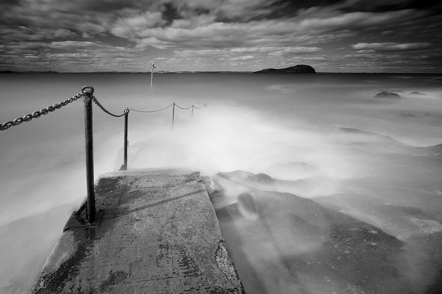 Berwick Photograph - North Berwick Harbour by Keith Thorburn LRPS AFIAP CPAGB
