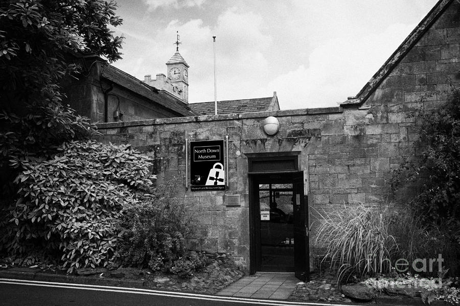 Bangor Photograph - North Down Museum And Heritage Centre In Bangor Castle Now The Town Hall by Joe Fox