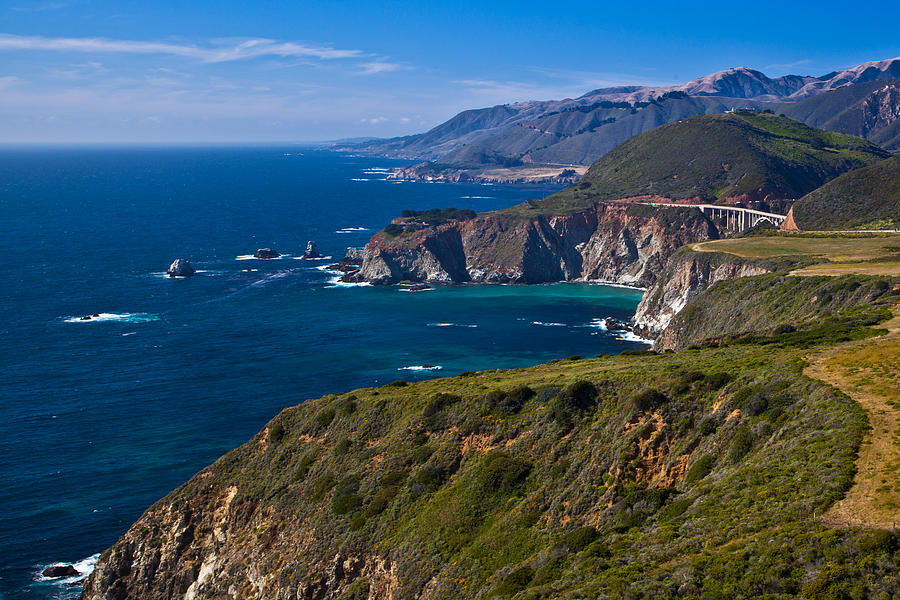 california highway 1 photograph by jim ross