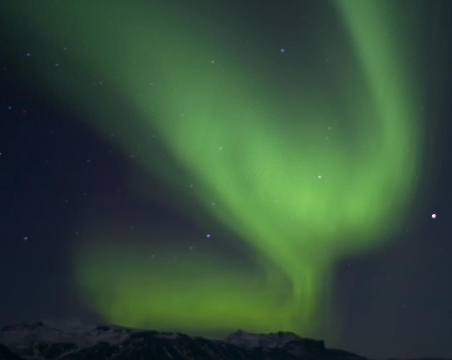 Northern Light Photograph - Northern Light by Frits Selier