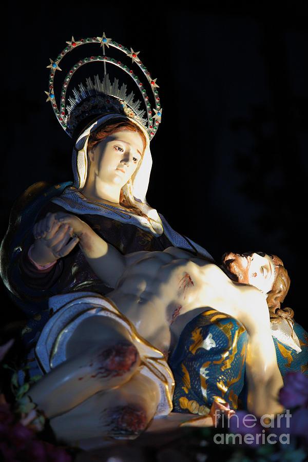 Mary Photograph - Nossa Senhora Da Piedade by Gaspar Avila
