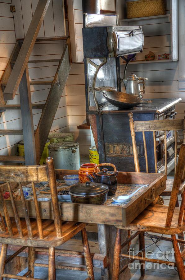 Nostalgia Photograph - Nostalgia Country Kitchen by Bob Christopher