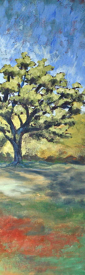 Trees Painting - Not Far Now by Lisa Masters