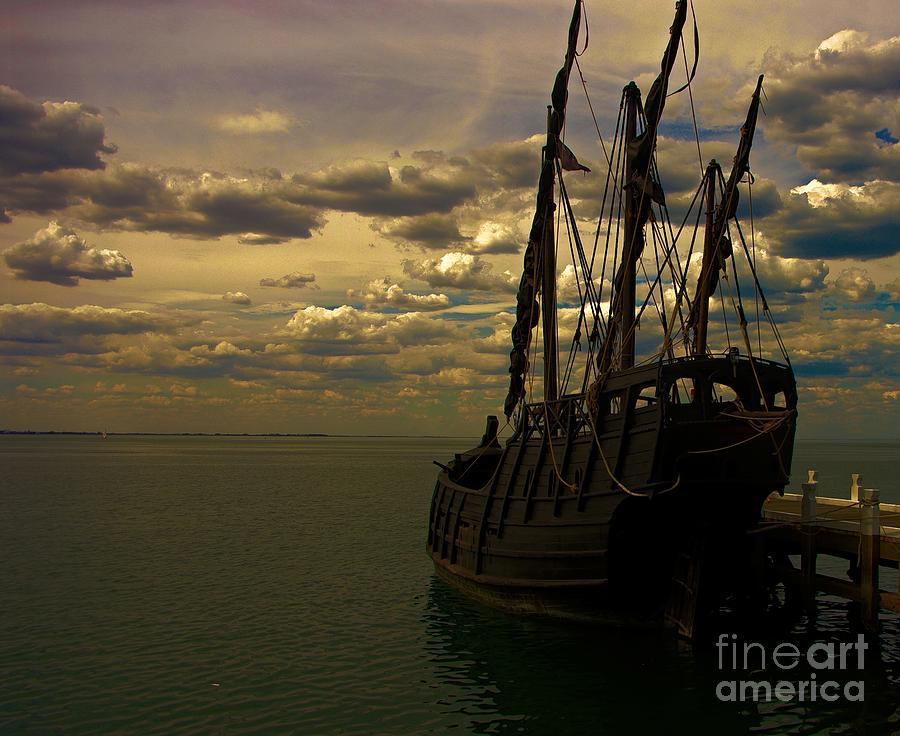 Pirates Photograph - Notorious The Pirate Ship by Blair Stuart