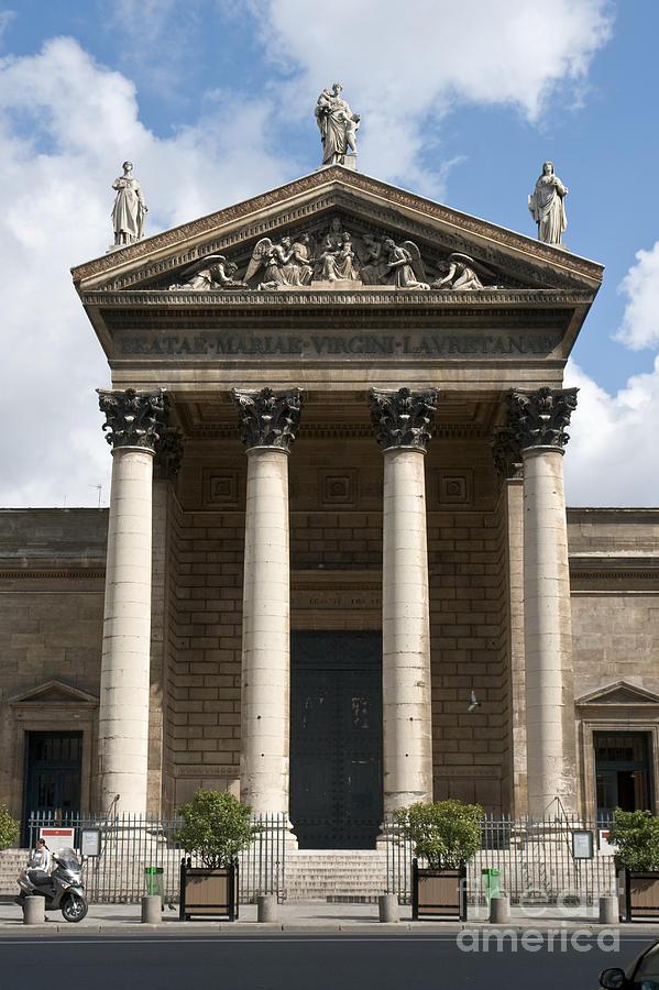 Notre Photograph - Notre Dame De Lorette by Fabrizio Ruggeri