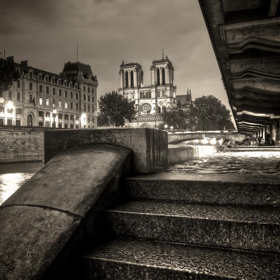 Notre Photograph - Notre-dame De Paris by Matthieu Godon