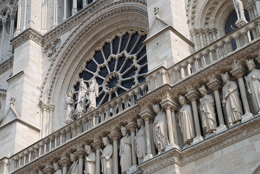 Notre Dame Details Photograph By Jennifer Ancker