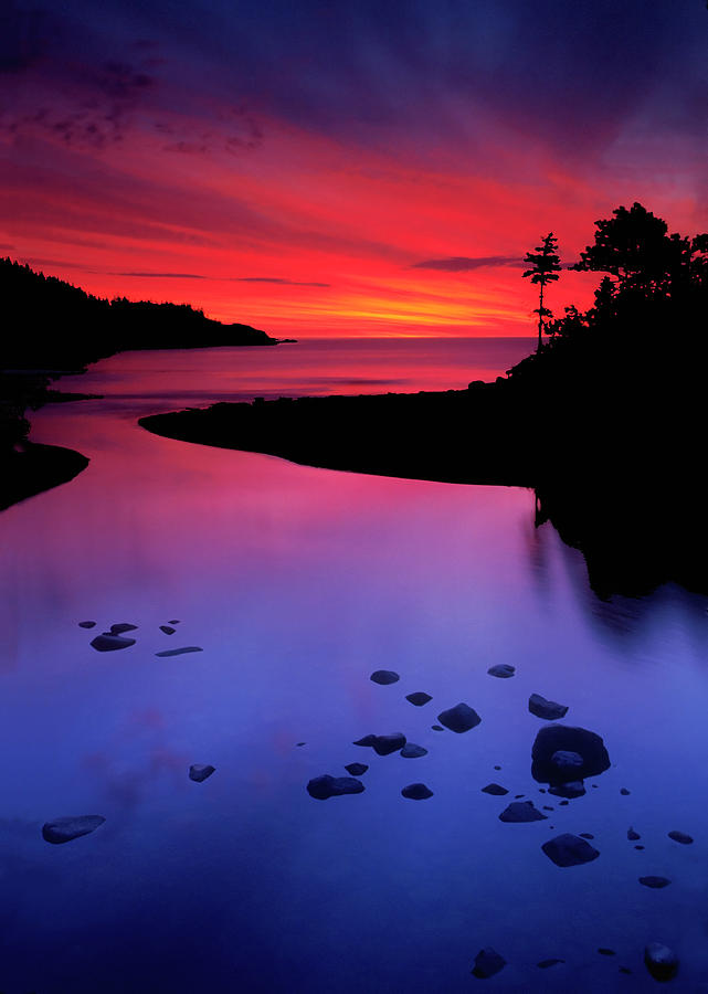 Nova Scotia Sunrise Photograph By Dave Mills