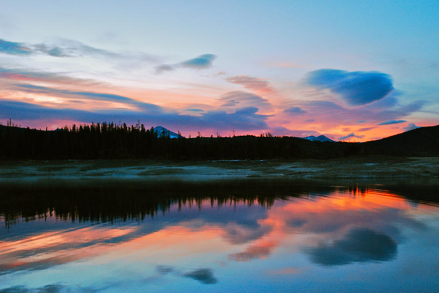 Colorado Photograph - November Sunrise by Bob Berwyn