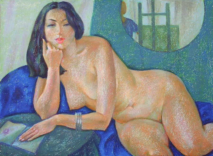 Nude Painting - Nu 22 by Leonid Petrushin