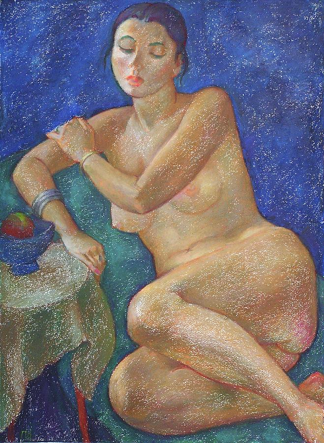Nude Painting - Nu 31 by Leonid Petrushin