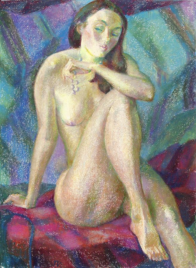 Nude Painting - Nu 47 by Leonid Petrushin