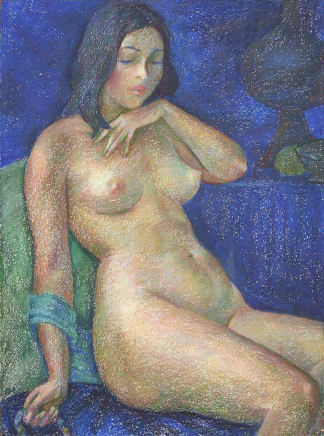 Nude Painting - Nu 68 by Leonid Petrushin