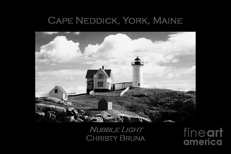 Lighthouse Photograph - Nubble Light by Christy Bruna