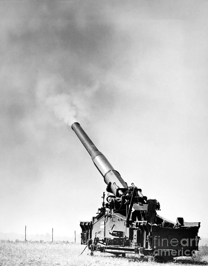 1950s Photograph - Nuclear Artillery, 1950s by Granger