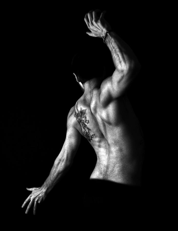 Nude Photograph - Nude Man by Sumit Mehndiratta