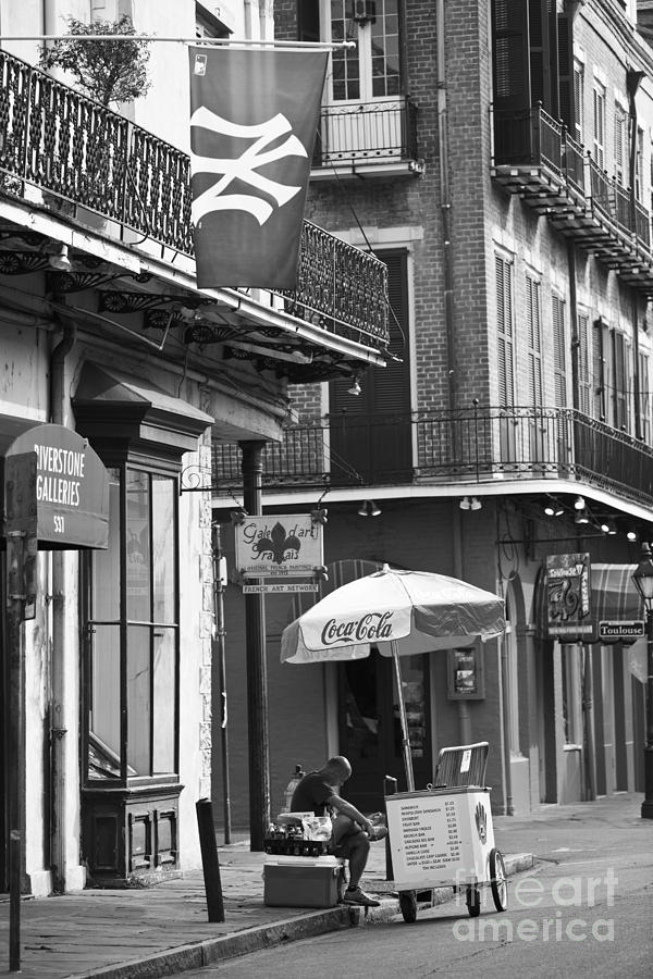 New Orleans Photograph - Ny Yankees On Royal Street by Leslie Leda