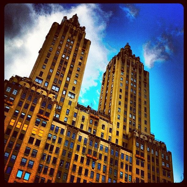 Building Photograph - #nyc #clouds #centralpark #sky #building by Luke Kingma