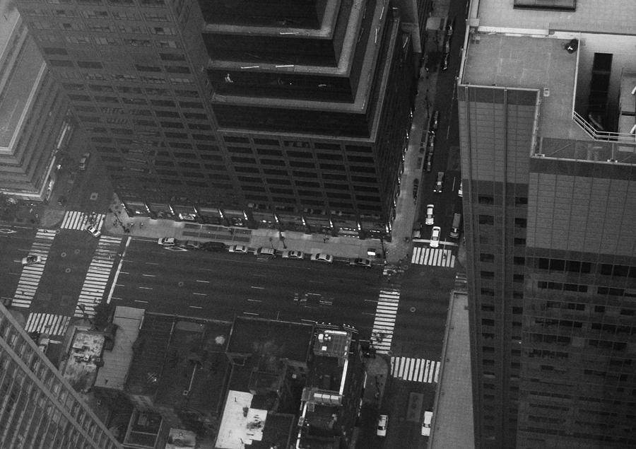 New York Photograph - Nyc From The Top by Naxart Studio