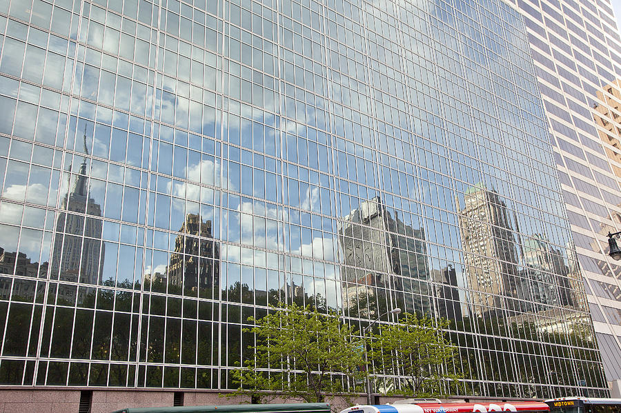 Photograph - Nyc Reflection 3 by Art Ferrier